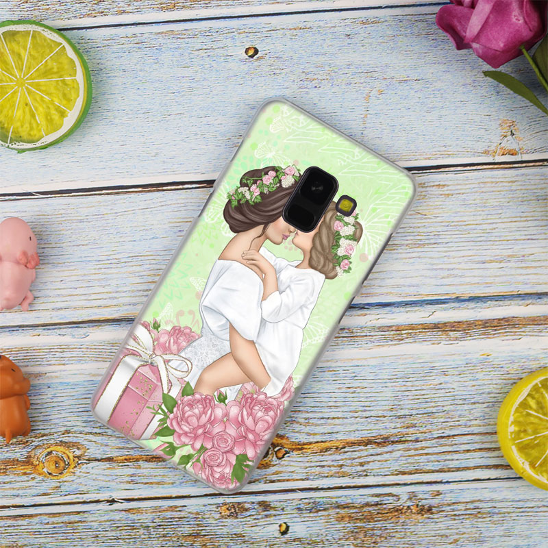 Baby Mom Girl Boy Fashion Case Cover For Samsung Galaxy A6 A8 Plus A9 A7 2018 A5 2016 2017 A6S A9star Note9 8 5 4 Hot
