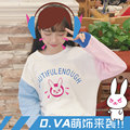 Dva Autumn Winter Cotton Sweatshirts for Women Coat hoodie Hot Game OW Watch and Over D.va Sweatshirt Hoodies