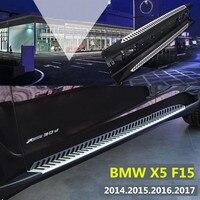 Para BMW X5 F15 2014 2015 2016 2017 2018 Auo Bar Passo Lado Estribos Pedais de Alta Qualidade Brand New o Projeto Original Nerf Bares