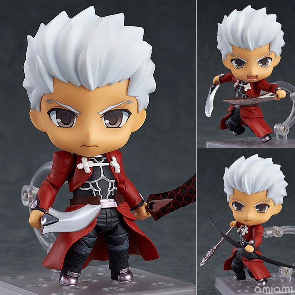 Fate/stay Night Action Figure Archer Nendoroid 486# PVC Figure Toy 100MM Fate Stay Night Archer Collectible Model Toy gonlei anime figma 223 fate stay night archer pvc action figure collectible model toy 15cm s131
