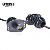OTBS LED Marker Angel Eyes 2*20W High Power White Color Halo Light CREE LED Chips DRL for BMW E91 E90