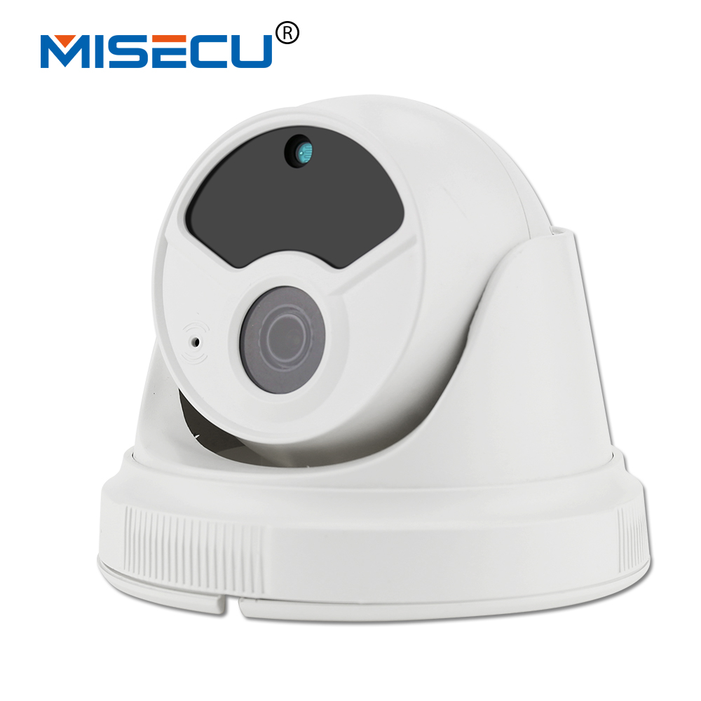 MISECU Nouveau HD 1.0MP Audio Onvif IP Vision Nocturne Caméra 1.0MP/1.3MP/2.0MP Tableau LED IRCut ABS Caméra accueil de sécurité Bébé Moniteur