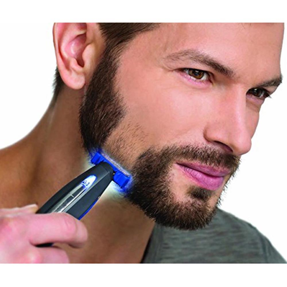 2017 Micro Touch New SOLO Rechargeable Shaver For Men Peronal Hair Cleaning Shaver Trimmer and Edger Hyper-Advanced Smart Razor