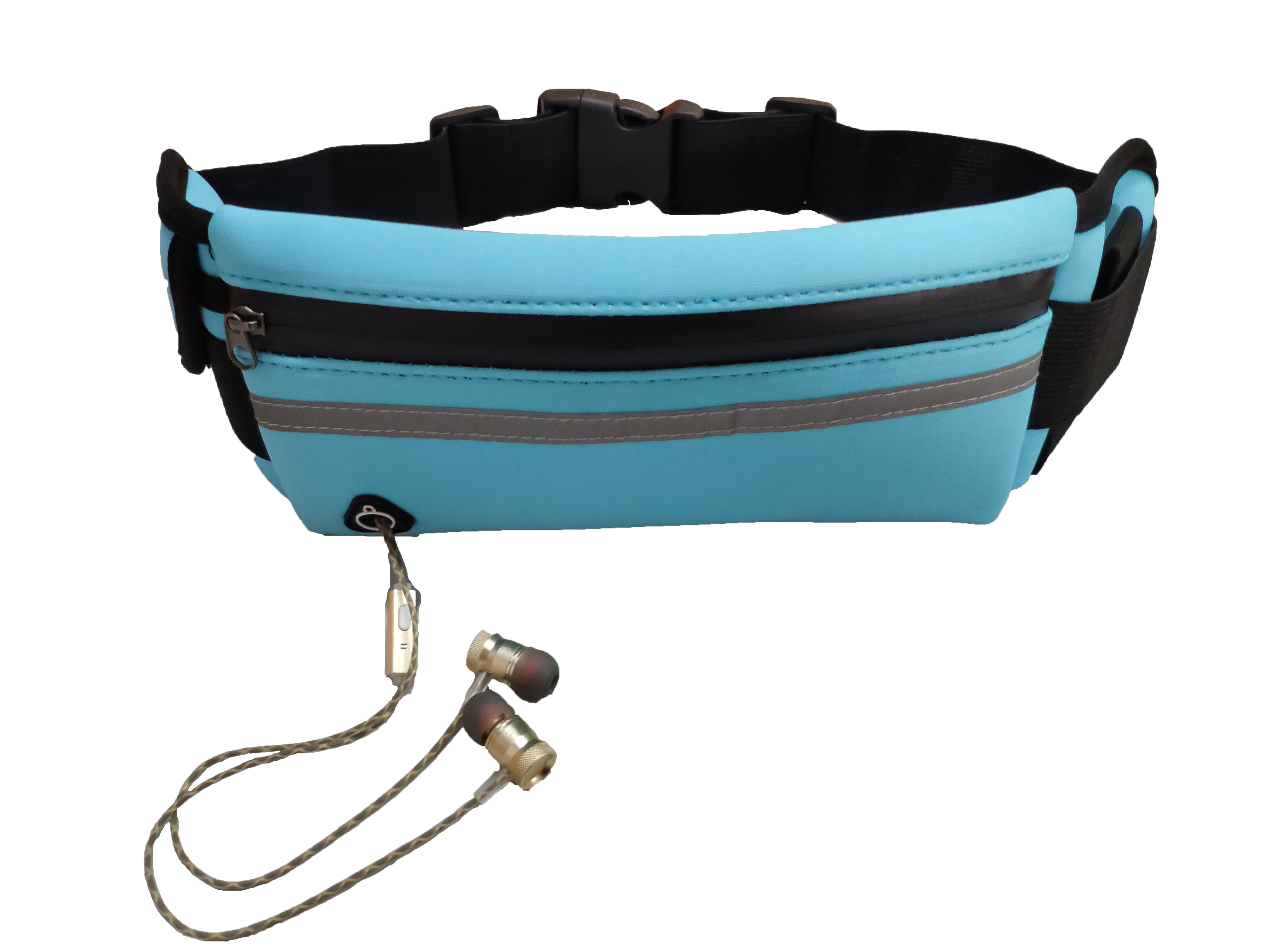 Running Waist Bag Sport Bags Jogging Pack Cycling Phone Pocket Waterproof Belt Wallet With Bottle Holder Anti-theft