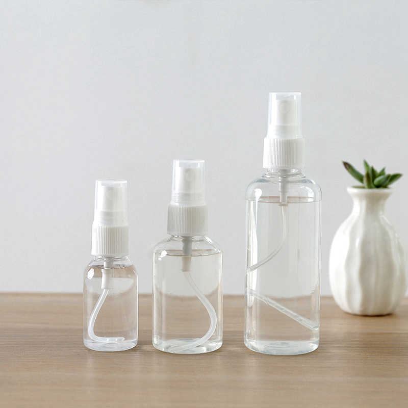 Travel Accessories Transparent Spray Sub Bottle Portable Organizer Bag Cosmetic Packing Storage Security Suitcase Accessory