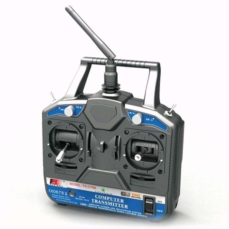 FATJAY FlySKY FS-CT6B FS fly sky 6CH 2.4G RC Transmitter FS-R6B receiver Remote controller 6 channel radio system