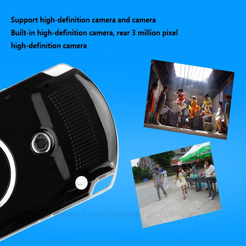 US $31 84 29% OFF|Portable Handheld Game Console Video MP4 Player 8GB Free  Download Games TV Out retro game console de jeux Withe Camera Speaker-in