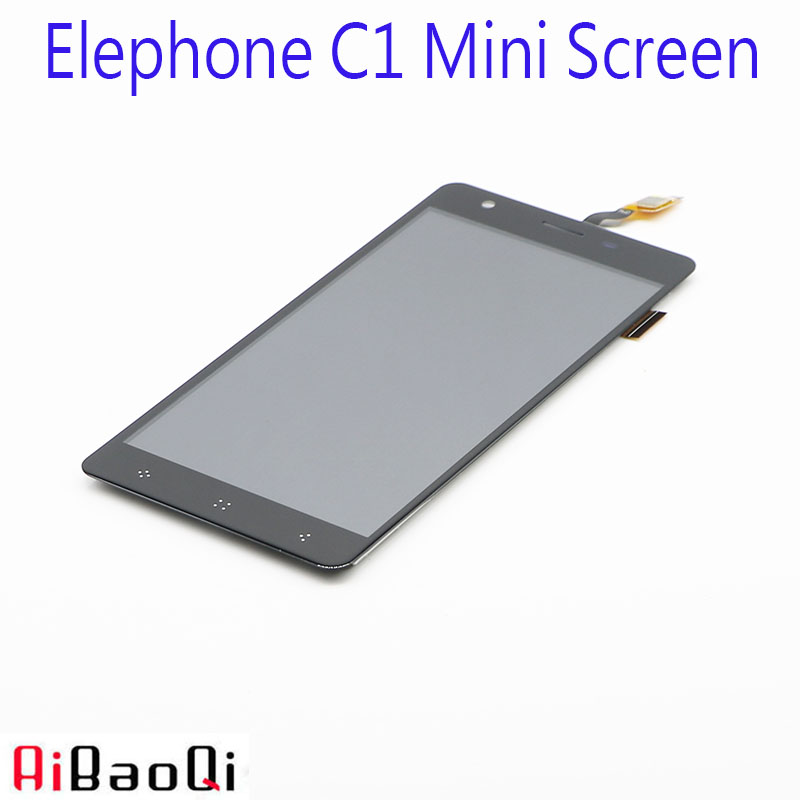 New Original Elephone C1 Mini 1280X720 LCD Display Touch Screen Assembly Repair Part 5 0 inch
