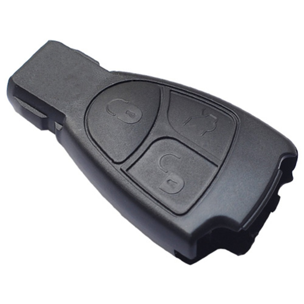 3 buttons replacement remote key fob case for mercedes for Replacement key mercedes benz