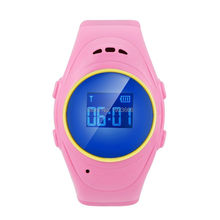 E08S high quality GSM child Kids gprs watch device children smart band for Safety with LBS+GPS of positioning tracker, pedometer