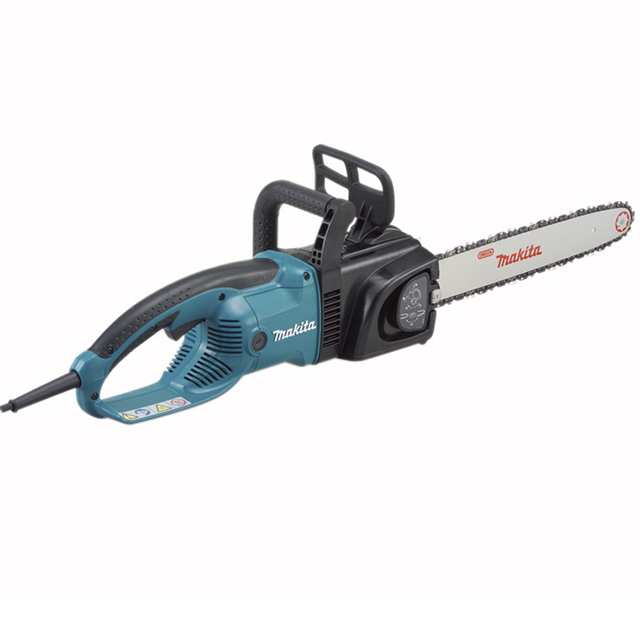 """Makita UC4030A electric chain saw 1800W Speed (per minute) 800m (2600mft) Chain gear 3/8 Automatic function prevents oil spill """" 1"""
