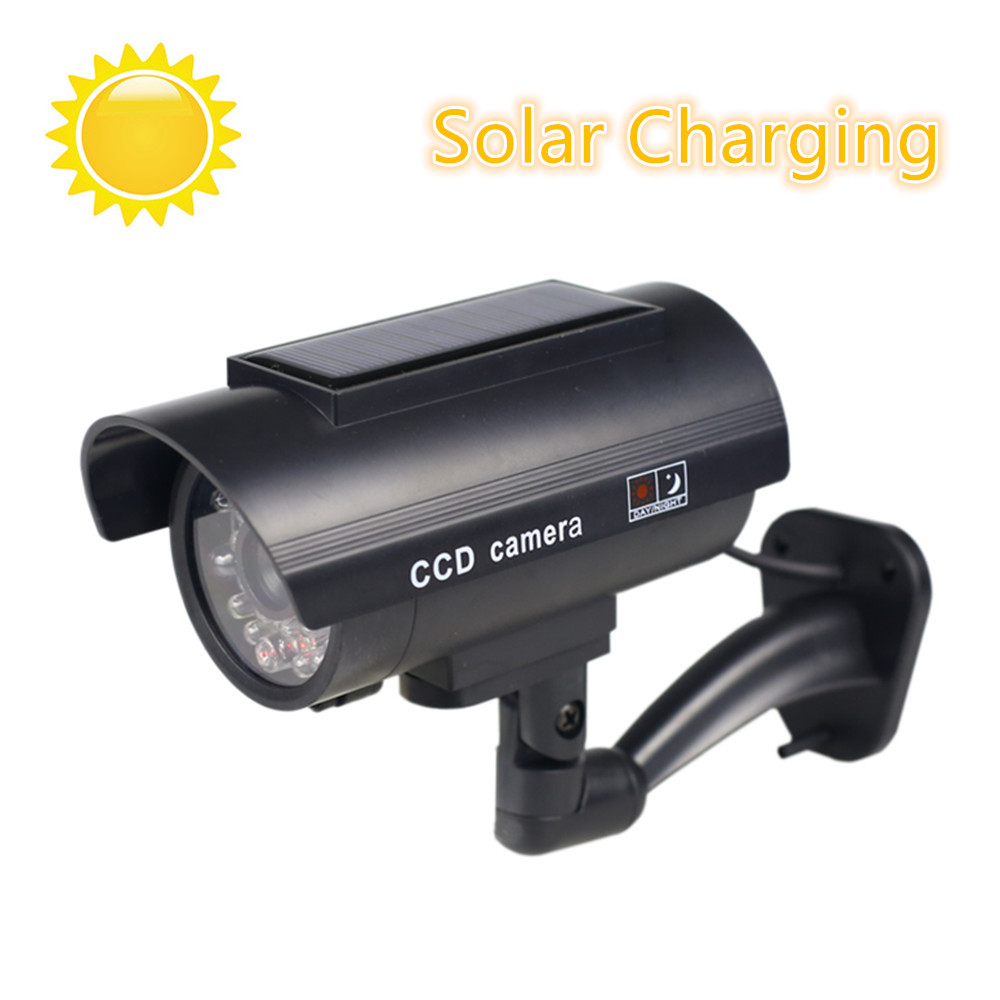 fake-camera-solar-power-outdoor-simulation-dummy-camera-waterproof-security-cctv-surveillance-bullet-with-flashing-led-light