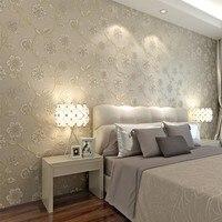 Beibehang hoa Mục Vụ nền không dệt hình nền khách hiện đại nhỏ gọn phòng phòng ngủ nhỏ hoa backdrop cm-tường giấy