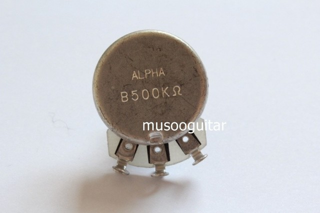 US $6 99 |ALPHA POTS Linear B 500k Tone Potentiometers Electric Guitars-in  Guitar Parts & Accessories from Sports & Entertainment on Aliexpress com |