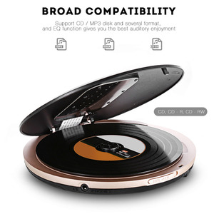 Image 3 - HOTT Portable CD Player With LCD Headphone Jack Anti Slip Shockproof Protection Compact CD Music Disc Walkman Player