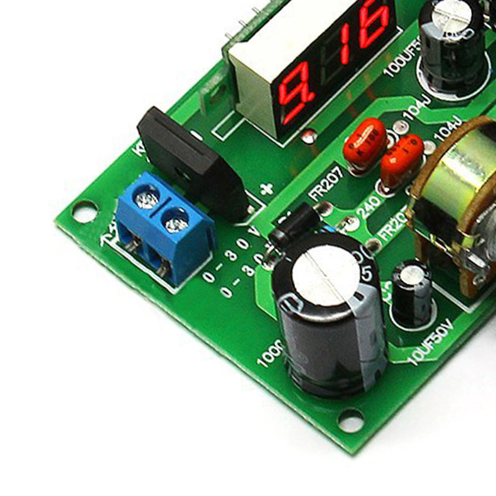 LM317 Adjustable Voltage Regulator Step Down Power Supply Module in Battery Accessories Charger Accessories from Consumer Electronics