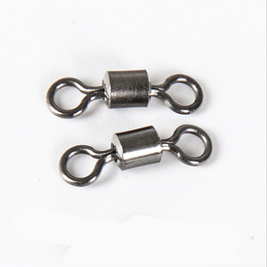 Image 5 - 10 50pcs Fishing Swivel Connector Stainless Steel Fishing Swivel Snap Fishing Swivel Snap Hook Long Rolling Swivel For Fishing