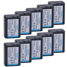 10pc lot NP FW50 NP FW50 NPFW50 Battery Bateria for SONY A5000 A5100 A7R NEX6 5TL