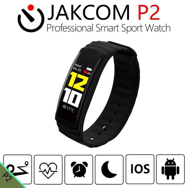 06c7a16a968f JAKCOM P2 profesional reloj deportivo inteligente como pulseras en iwownfit  everdrive smartband gps