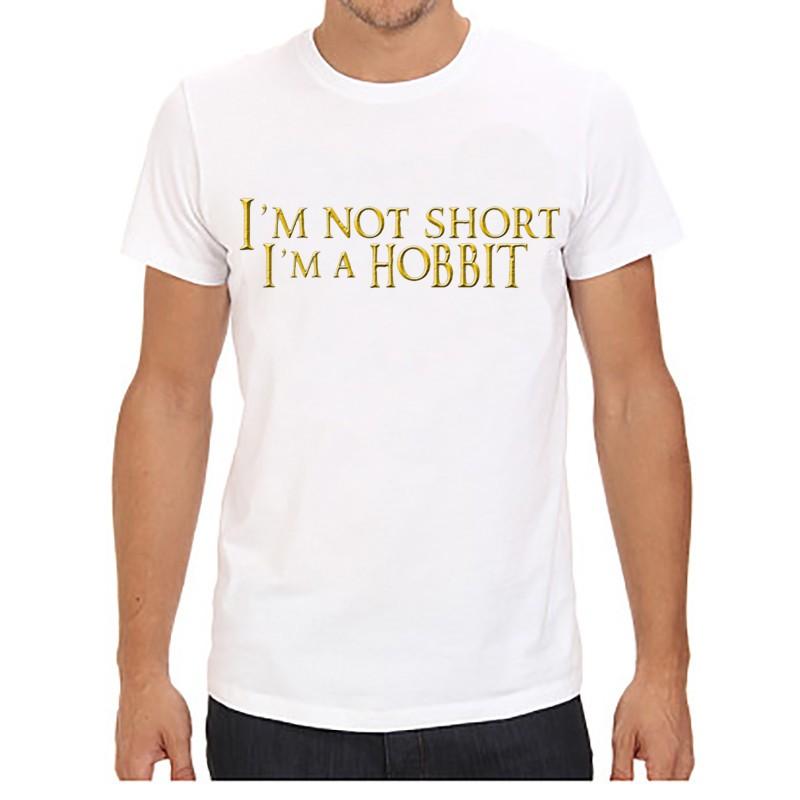 The Hobbit T-Shirt I Am Not Short I Am a Hobbit