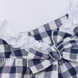 Vintage Baby Girls Easter Dress, Vintage Baby Dress, Vintage tartan Baby outfit,  baby summer  outfit (5)_