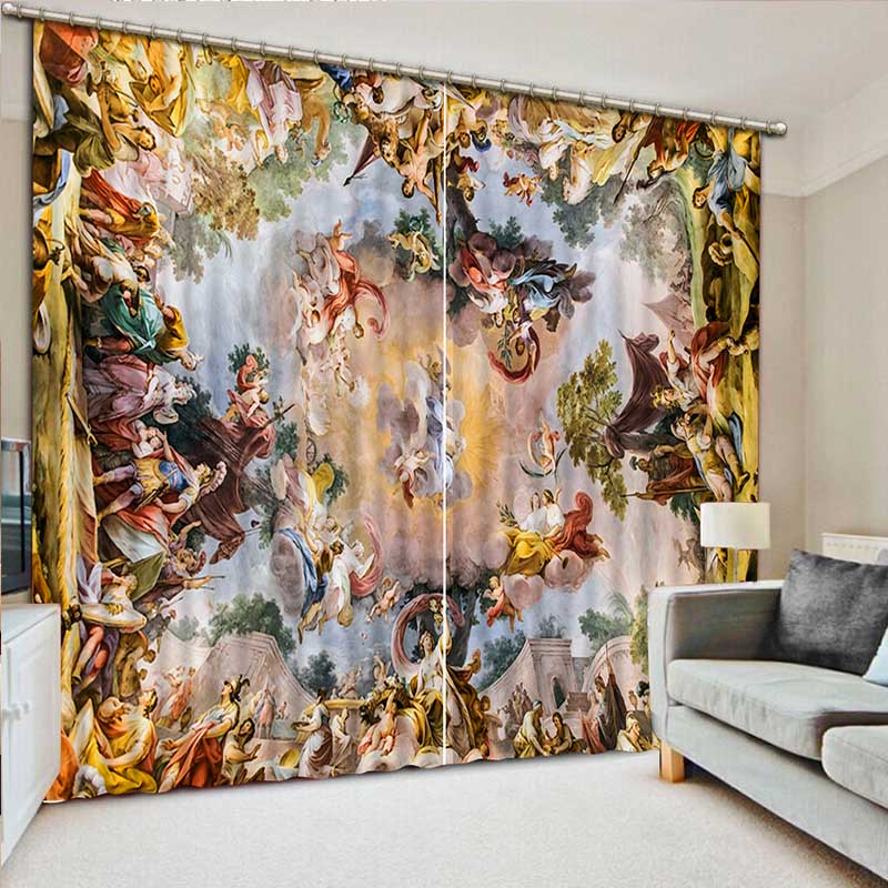 3d Curtains Beautiful Variety Of Lifelike Ancient Greek