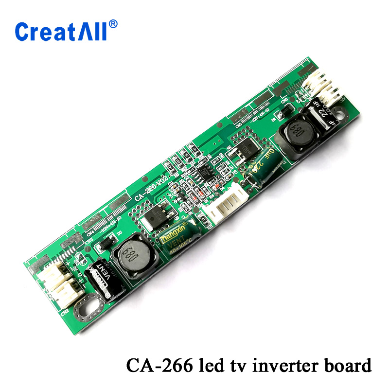 100pcs/lot CA-266 12V-28V input 26-65inch LED TV backlight board Led universal inverter Constant current board