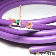 Ofc cobre mains cabo de alimentação ac fio diy amplificador de áudio alta fidelidade cd dac 3 núcleos * 0.25mm2