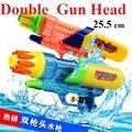 25.5 cm grande de las ventas calientes juguetes del arma de agua juego de deportes disparar pistola de alta presión Soaker acción de la bomba pistola exterior pistola