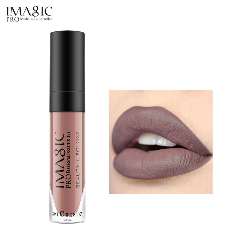 IMAGIC Marka Lip Tint Lip Makeup Matte Lip Gloss Długotrwały - Makijaż - Zdjęcie 4