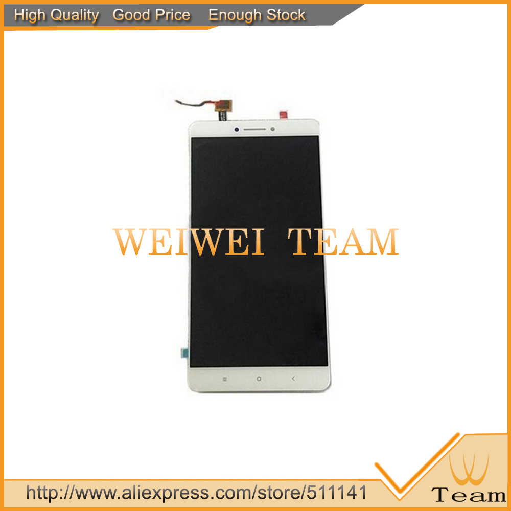 For 6.44 inch XiaoMi Mi MAX LCD Screen With Touch Screen Digitizer Replacement Free Shipping
