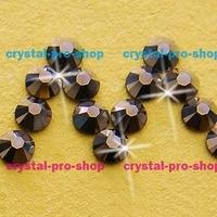 Swarovski Elements Bronze Shade BRSH No Hotfix Or Hotfix Iron On Ss5 Ss34 2mm 7mm Crystal