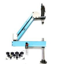 M3-M12 DIN вертикальный Тип пневматический резьбонарезной инструмент машина-Рабочая краны держатель для нарезки резьбы автомобиль защищает собирать нарезание резьбы Ёмкость