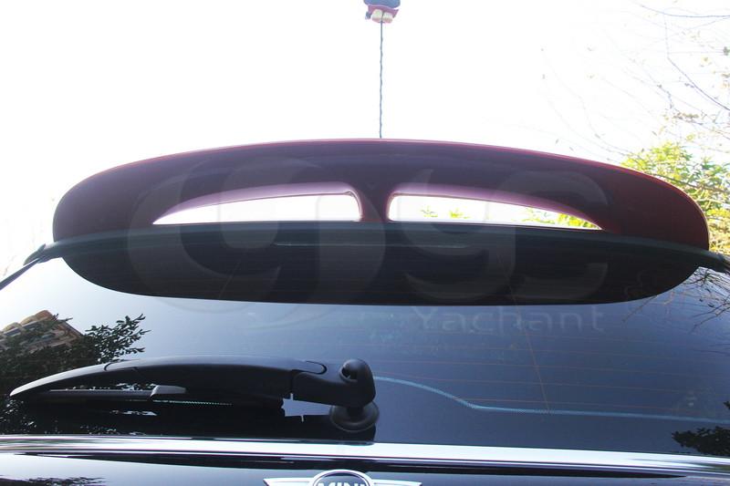 2006-2013 Mini Cooper  R55 R56 R57 John Cooper Works Style Roof Spoiler FRP (10)