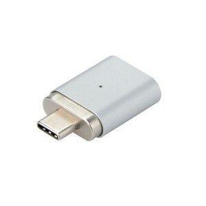Image 1 - 20PIN Type c3.1 Full featured Magnetische Adapter Kan Gegevensoverdracht 4 K Video Transmissie Lezen U Schijf Sd kaart