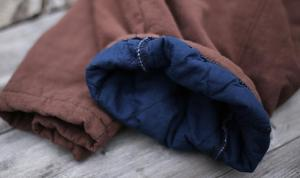 Image 5 - YoYiKamomo 2018 hiver femmes lâche pantalon épais chaud coton rembourré Harem pantalon solide couleur élastique couleur grande taille femmes pantalon