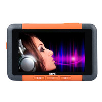 Best Price 8GB Slim MP3 MP4 MP5 Music Player With 4 3inch LCD Screen FM Radio