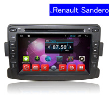 1024*600 HD Android Car Stereo for Renault Sandero GPS Navigation Bluetooth TV 3G WIFI Radio 1 Din Touch Screen Car DVD Player