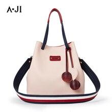 Women Fashion Bag With Shoulder Strap Handbag Crossbody Bucket Casual Shopping Work Daily Use 2019 Unique Design PU A5308