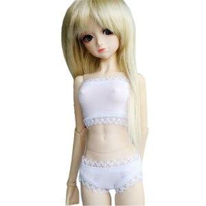 [wamami] 38# White Black 2pcs Underwear/Bra/Briefs For 1/4 MSD 1/3 SD DZ AOD LUTS BJD Dollfie
