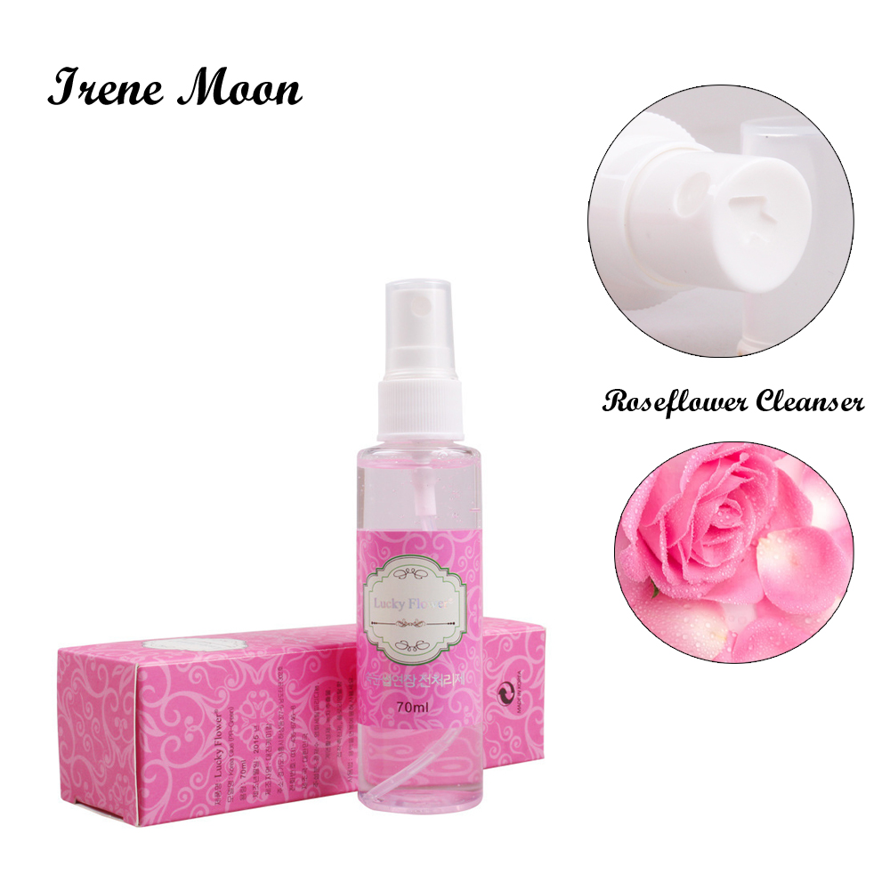 70ml Rose Smell Eyelash Cleanser Makeup Tools Eyelash Extension Clean Liquid For Lashes