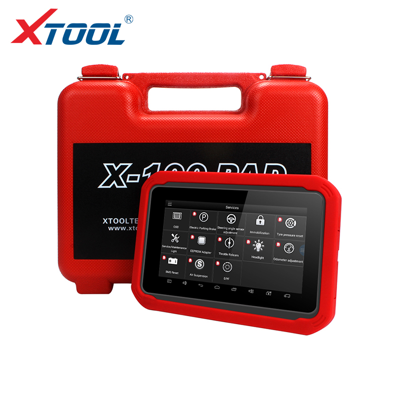 X100 PAD OBD2 Auto Key Programmer Diagnostic Scanner Automotive Code Reader IMMO EPB DPF BMS Reset Odometer EEPROM Update Online(China)