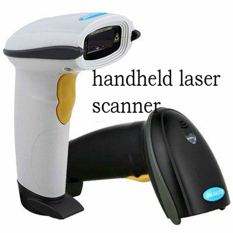 2 шт./лот Новый USB ручной видимый лазерный сканирования штрих сканер штрих-кода портативный сканирования Reader Бесплатная доставка