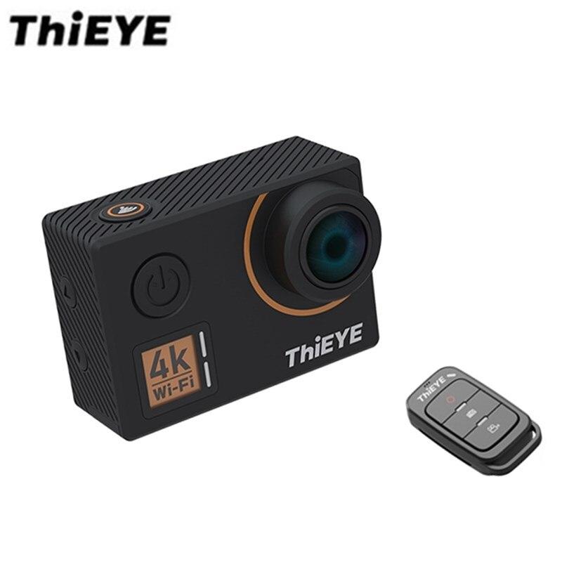 ThiEYE T5 Front D'action Caméra 14MP Native 4 K WiFi 2 pouce TFT LCD Écran 1080 P Sport Commandes Vocales Télécommande Ambarella A12