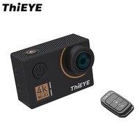ThiEYE T5 Krawędzi Action Kamera 14MP Rodzimych 4 K WiFi 2 cal Ekran TFT LCD 1080 P Sport Polecenia Głosowe Zdalne Sterowanie Ambarella A12