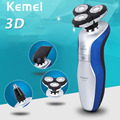 3D Electric Shaver 100% Original Kemei Shaver Man KM-3360 2017 Men's Electric Rechargeable Shaver Head For Philips Shaving Razor