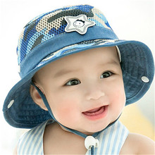47800cd72ee 2018 Summer Autumn Warm Soft Cotton Baby Sun Hat Infant Boys Girls Bucket  Hat Denim Cotton
