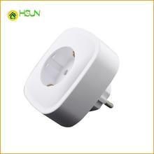 Smart home wifi smart socket Mobile phone APP  control European standard wireless outlet