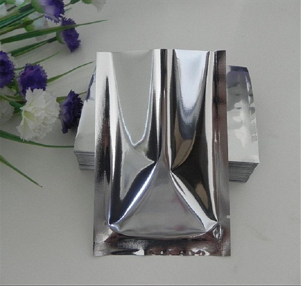 Mylar Foil Sealer Vacuum Bag Silver Aluminum Storage Pack Different Sizes