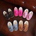 Nueva Llegada Del Bebé de Los Niños Zapatos de Invierno Gruesa Felpa Zapatos Niñas Zapatos del niño Zapatos de Cuero Genuino de Calidad Superior